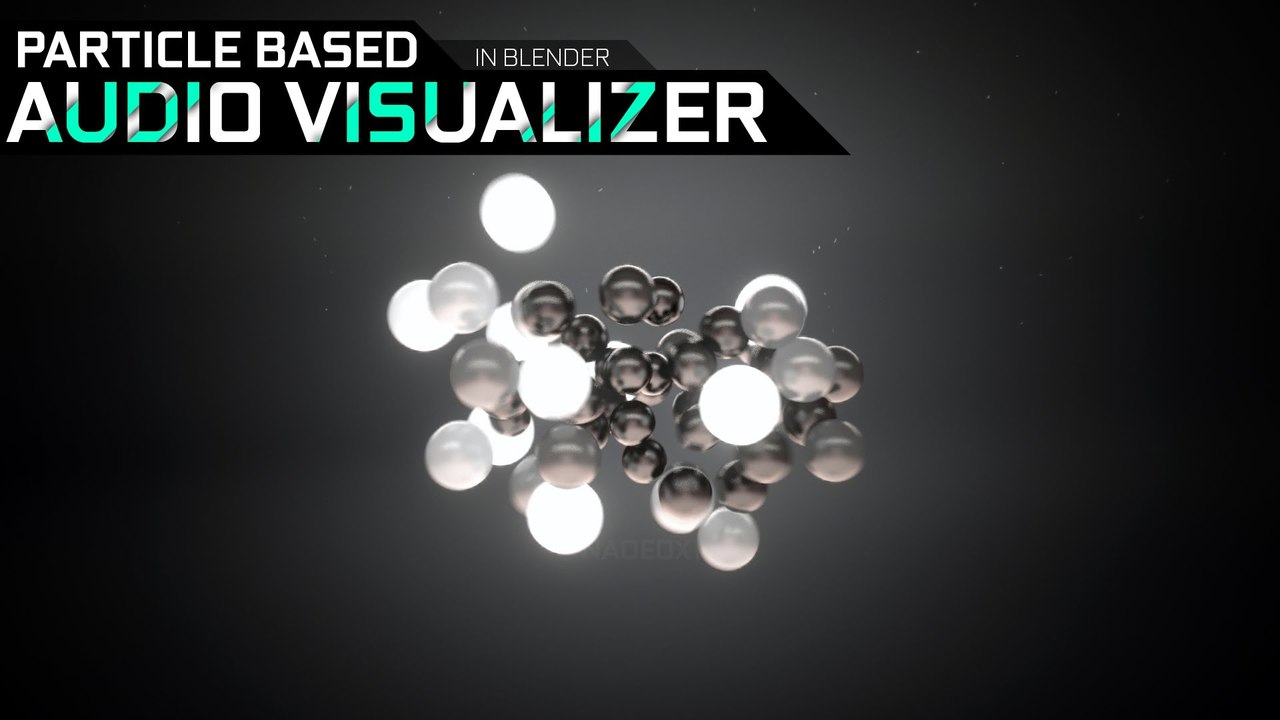 Blender - How to create a Particle Based Audio Visualizer [HD]