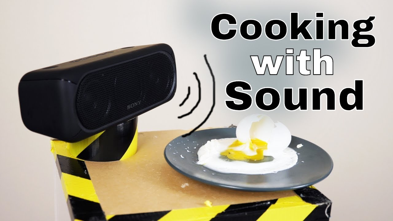 Can Loud Sounds Actually Cook Things? The Sound to Heat Experiment