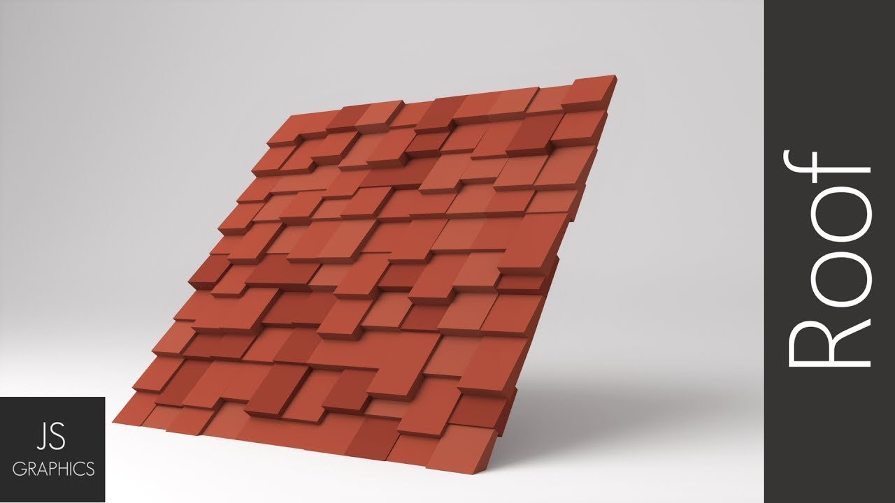 Blender | Low-poly: Roof