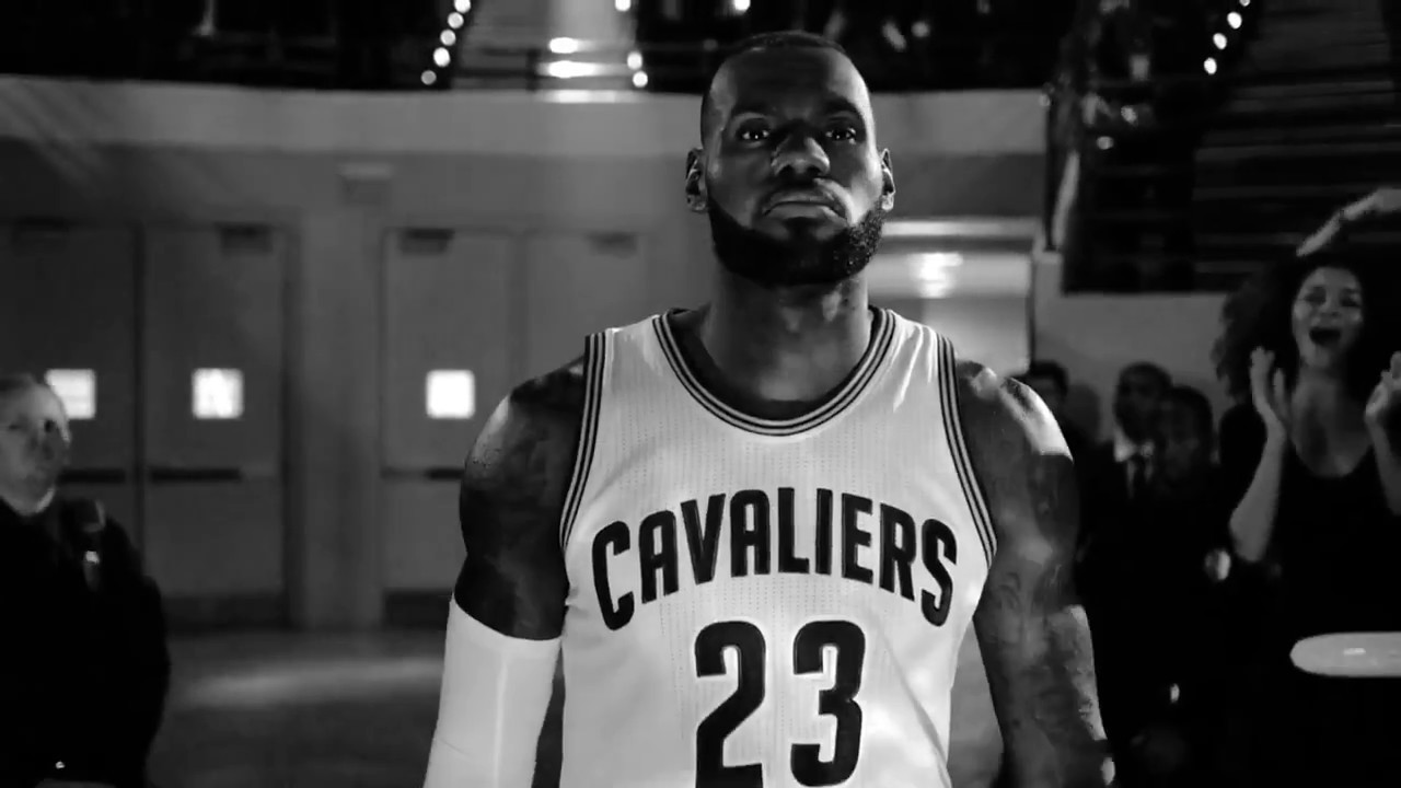 LeBron James commercial-Come out of Nowhere