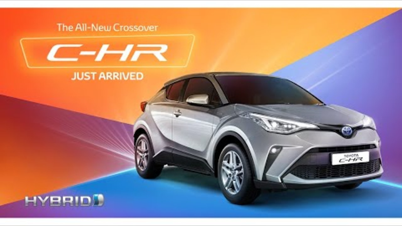 All-new Toyota C-HR #ToyotaBahrain