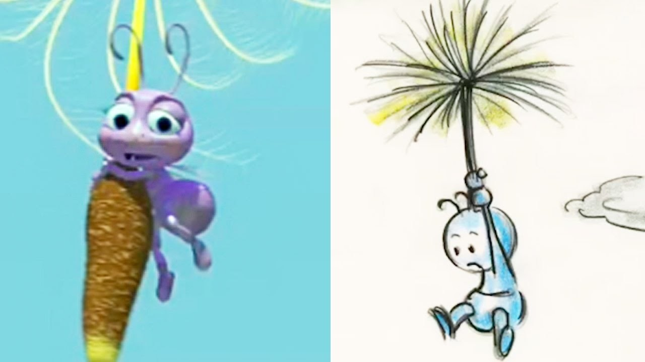 A Bugs Life Side-By-Side :