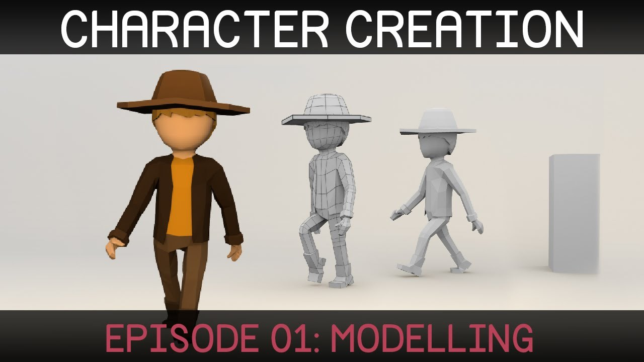 Blender Character Creation: Modelling