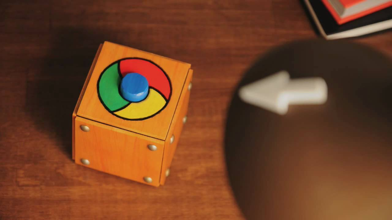 Chrome by Google 速いと、楽しい。