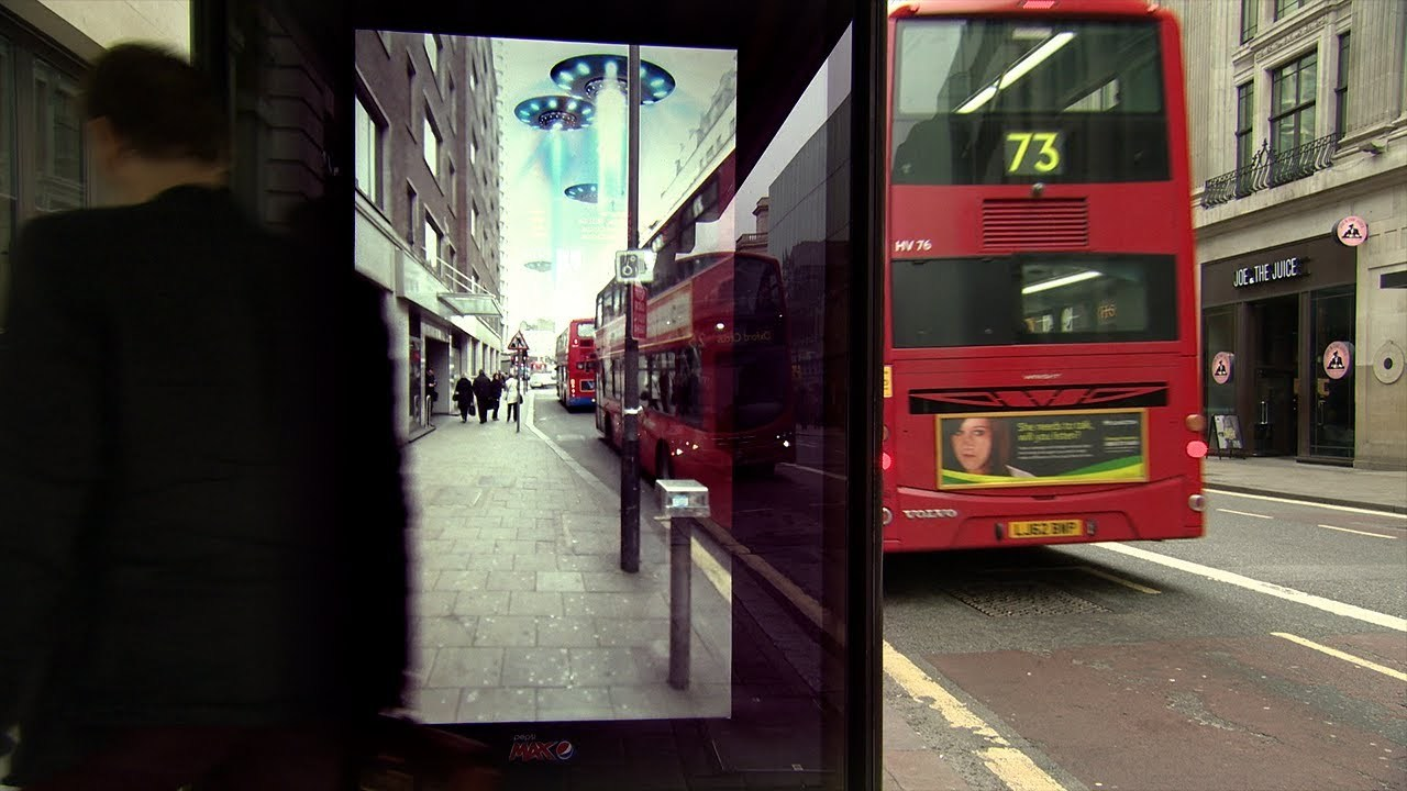 Unbelievable Bus Shelter | Pepsi Max. Unbelievable #LiveForNow