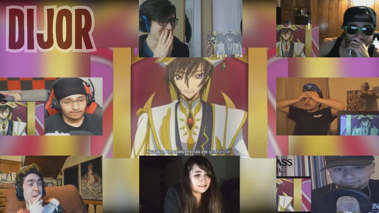 Code Geass Final/End | Reactions Mashup
