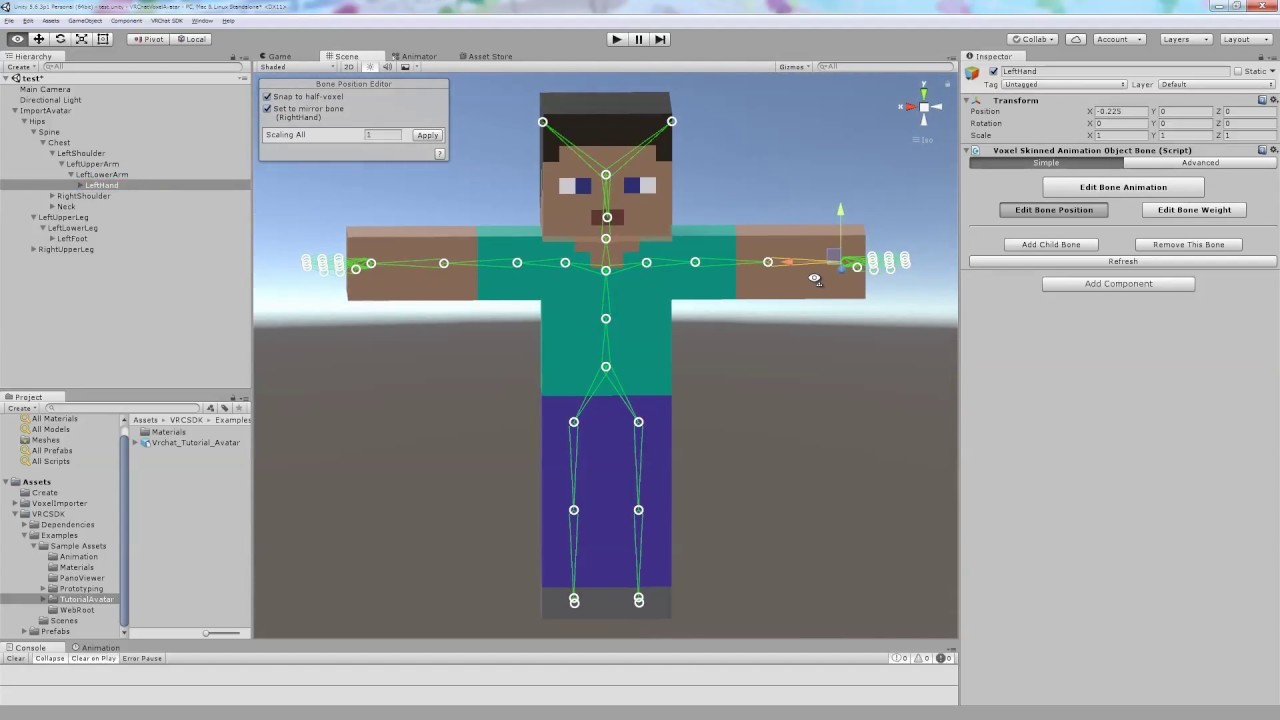 [VRChat] Tutorial to create voxel avatar