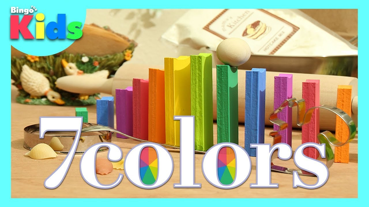 7colors / Stop Motion Animation