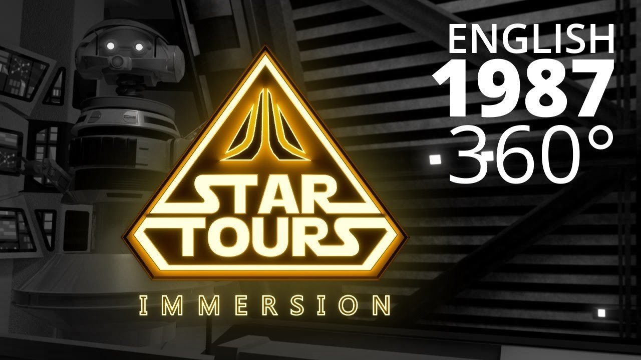 Star Tours: Immersion (1987) - English 360°