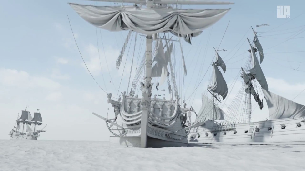 Black Sails VFX Breakdown