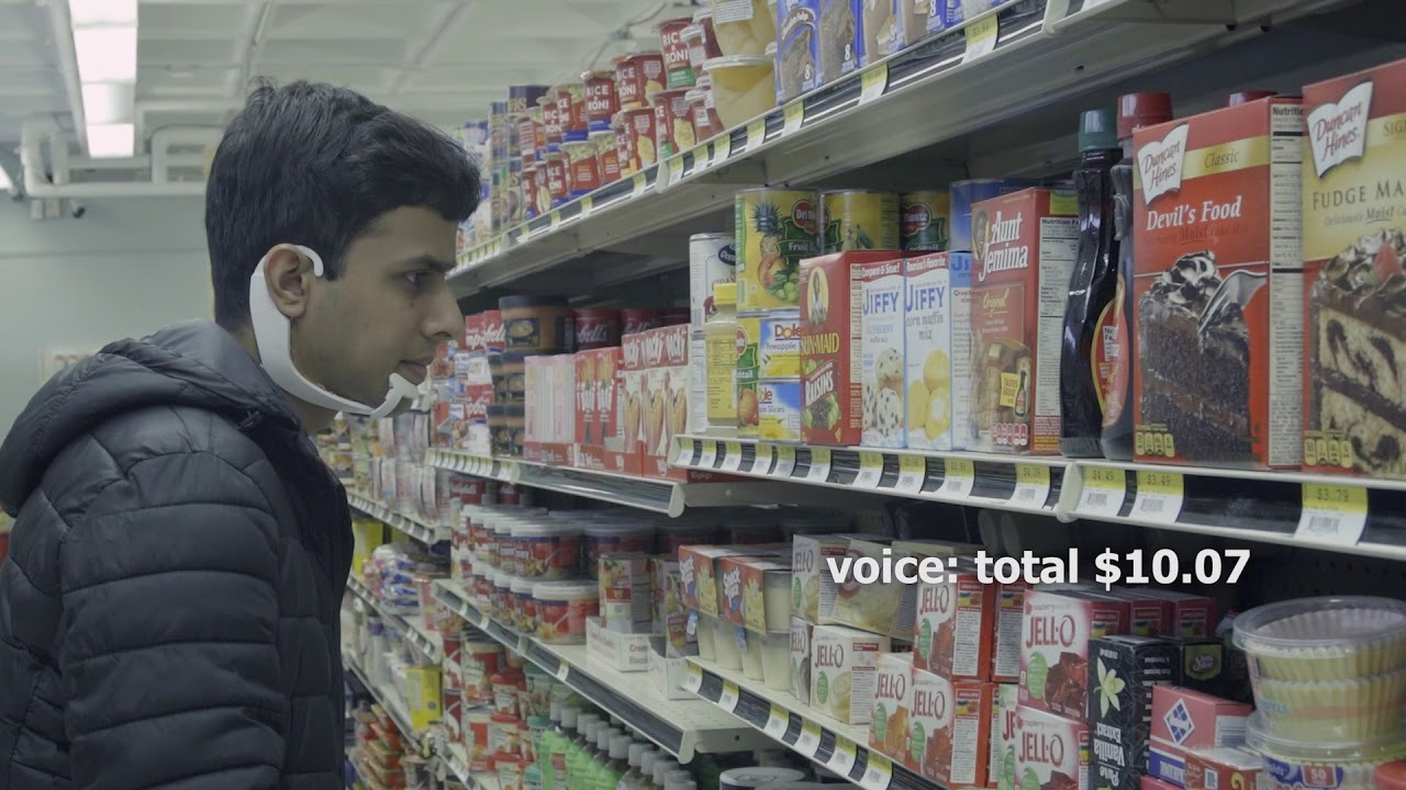 AlterEgo: Interfacing with devices through silent speech