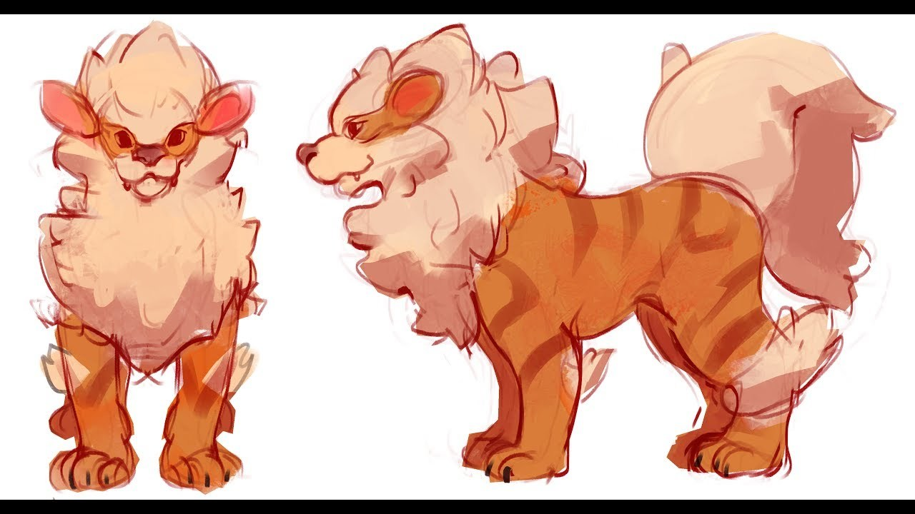 [BEGINNER FRIENDLY] Modeling Arcanine! - [1/?] - The Sketch