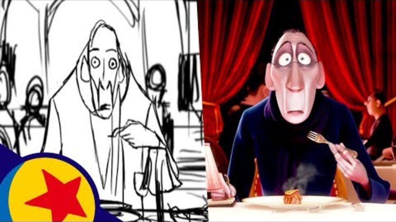 Remy's First Bite from Ratatouille | Pixar Side-by-Side