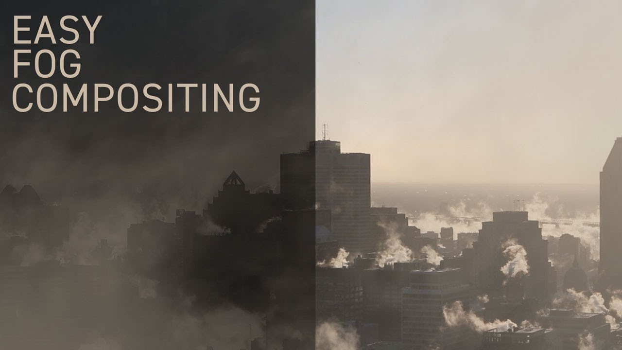 How To Properly Composite Fog in After Effects The Easy Way