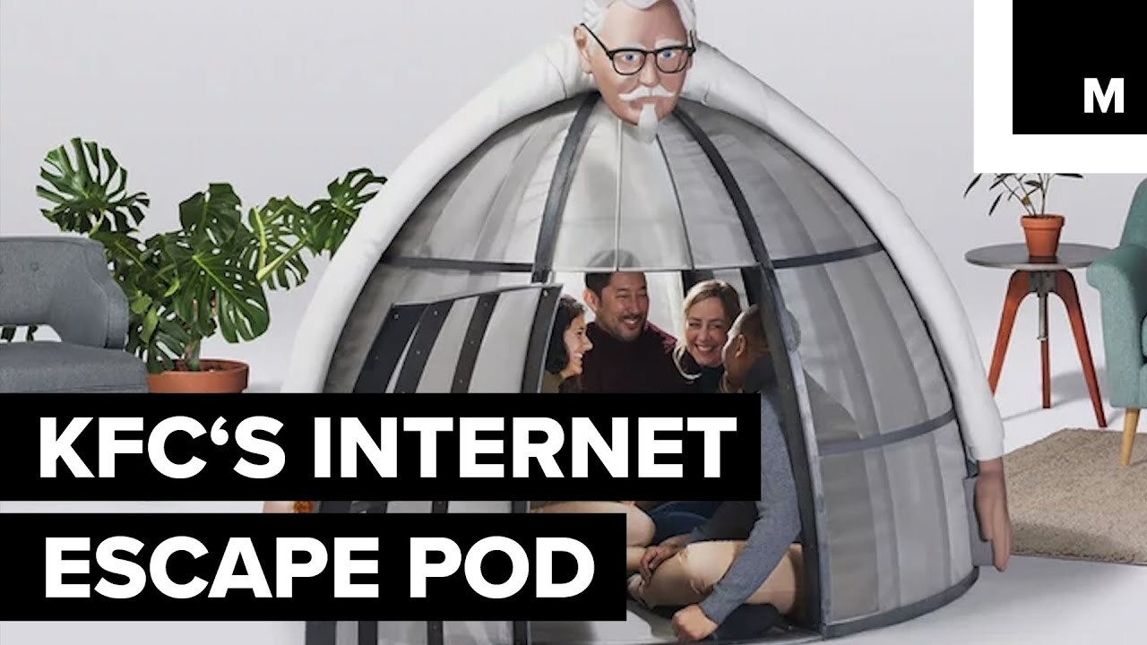 KFC Made a $10,000 Pod to Help You Escape the Holiday Internet Chaos