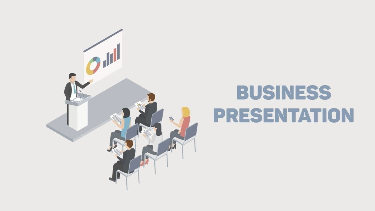 Isometric Animation for Business Scenes - After Effects Template