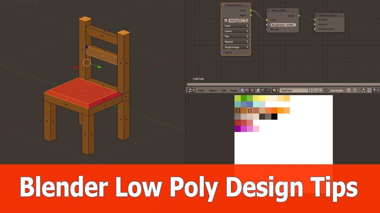 How to Low poly in Blender