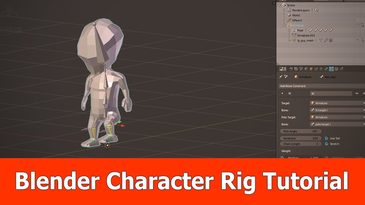 Blender Character Rig Tutorial
