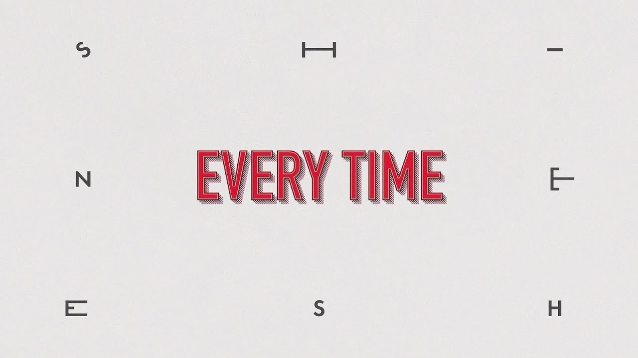 SHINee -「Every Time」プロモーションビデオ