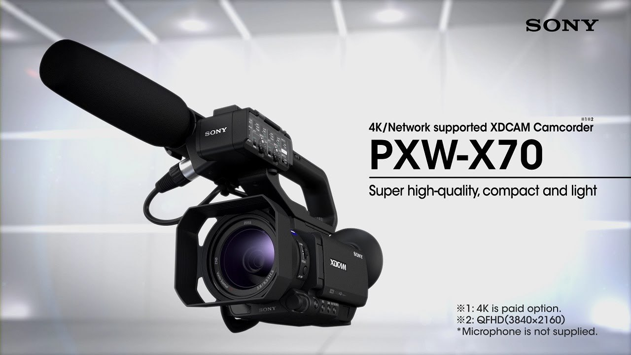 PXW-X70 Firmware Version2.0 Functional Video