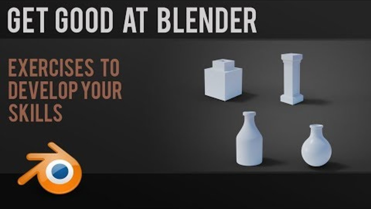 Improve your Blender skills | beginner exercises