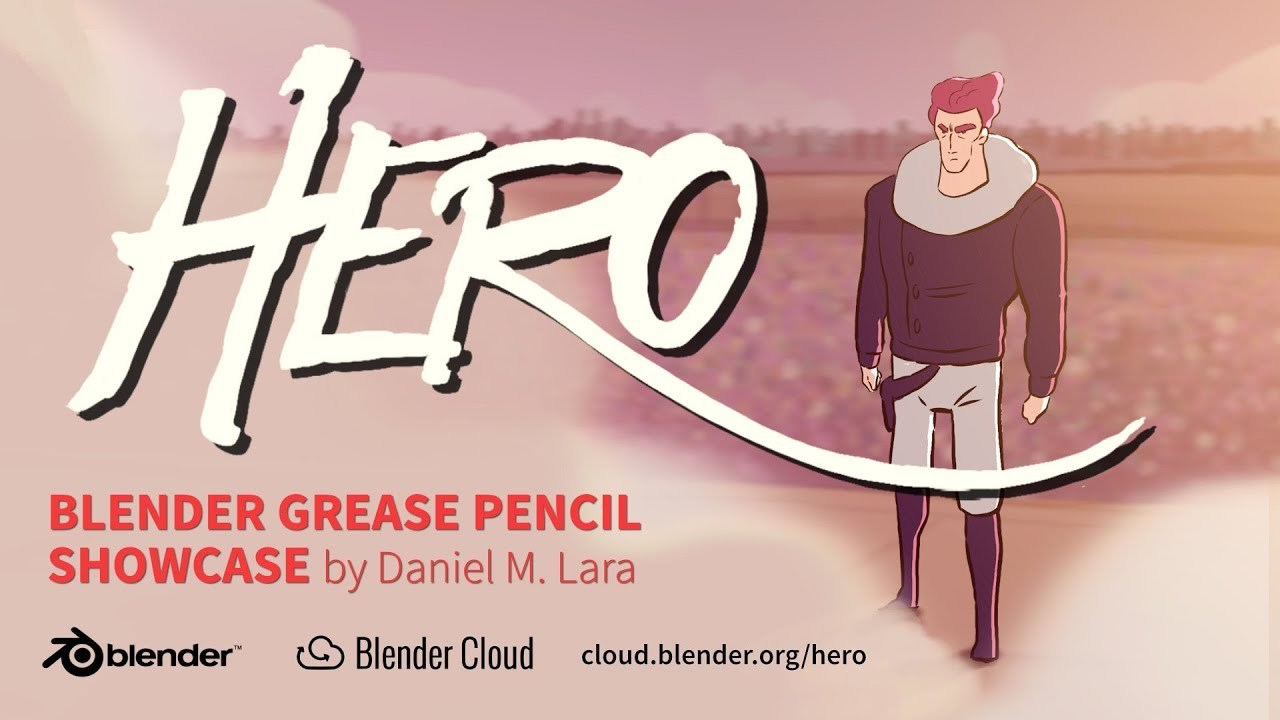 HERO – Blender Grease Pencil Showcase