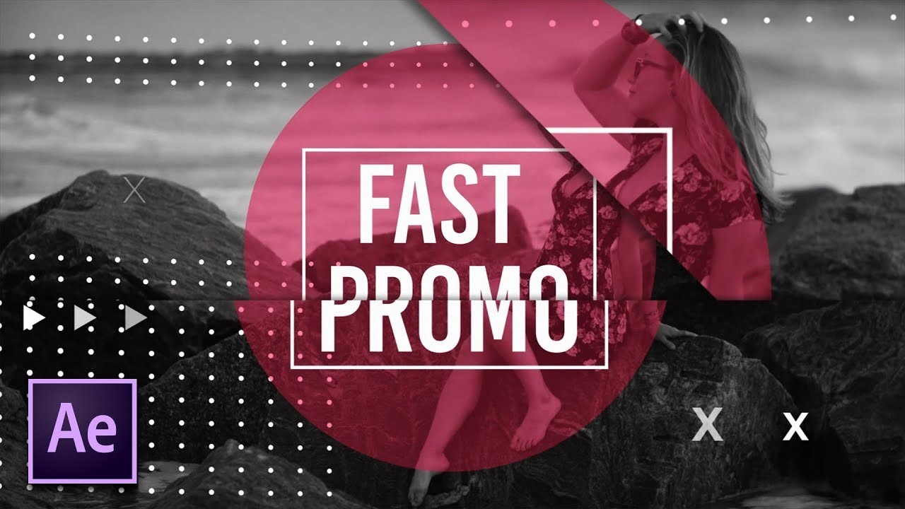4 Fast Intro/Promo Techniques   After Effects Motion Graphics Tutorial