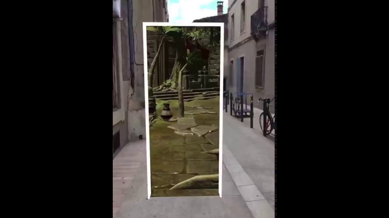 ARKit Inter-dimensional Portal by @nedd