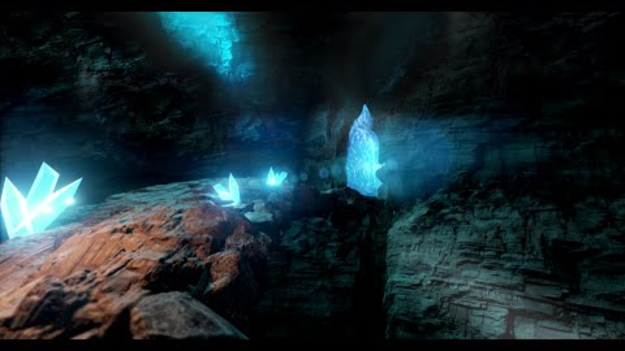 Creating An Ice Cave Scene In UE4/Unreal Engine 4