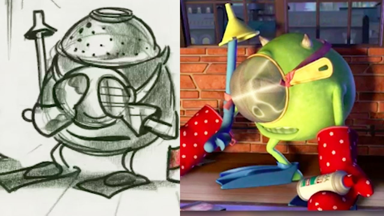 Monsters Inc. Side by Side