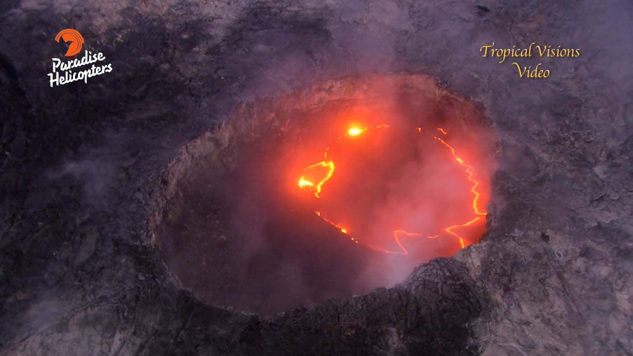 Lava Smiley Face Signals Change in Volcano's Eruption!