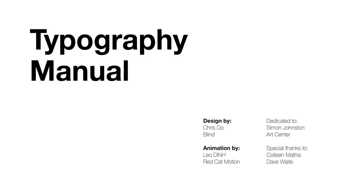 Typography Tutorial: 10 rules to help you rule type