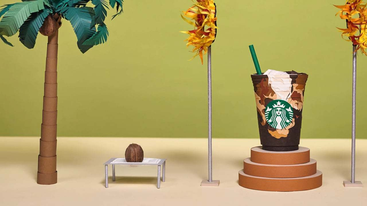 Starbucks - Toasted Coconut Cold Brew.