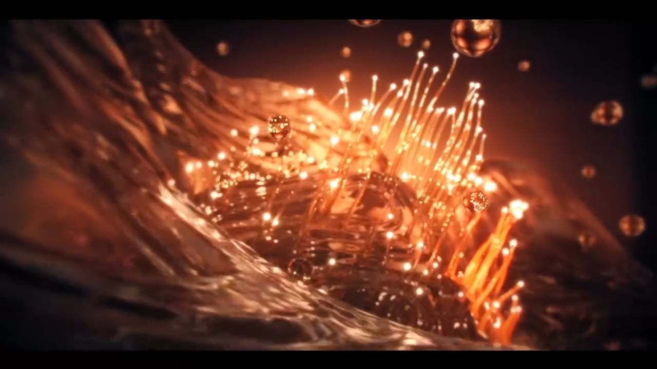 Water flowers blossoming in Houdini. Tutorial + project (HIP,comp,ae)
