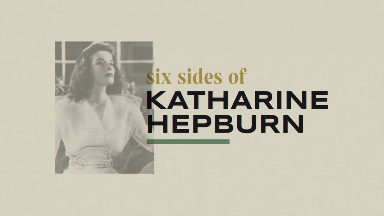 Six Sides of Katharine Hepburn: Graphics Titles and Packaging