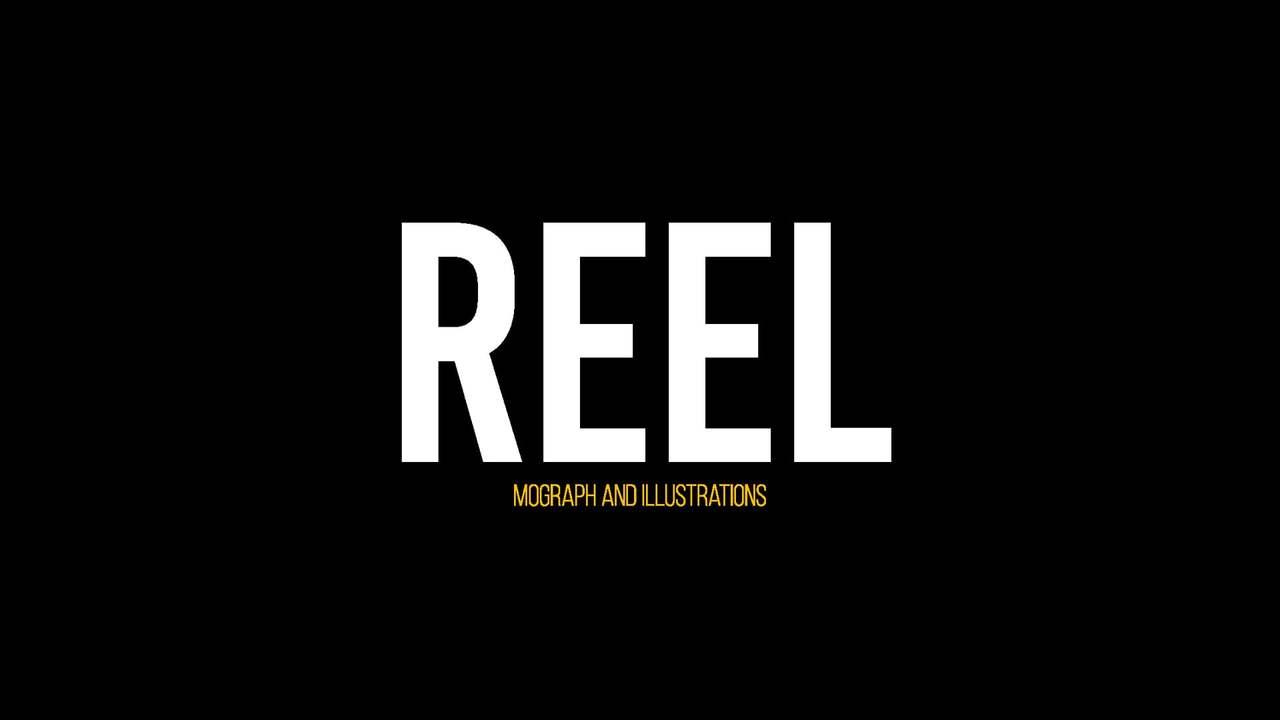 Motion graphics / Illustrations Reel