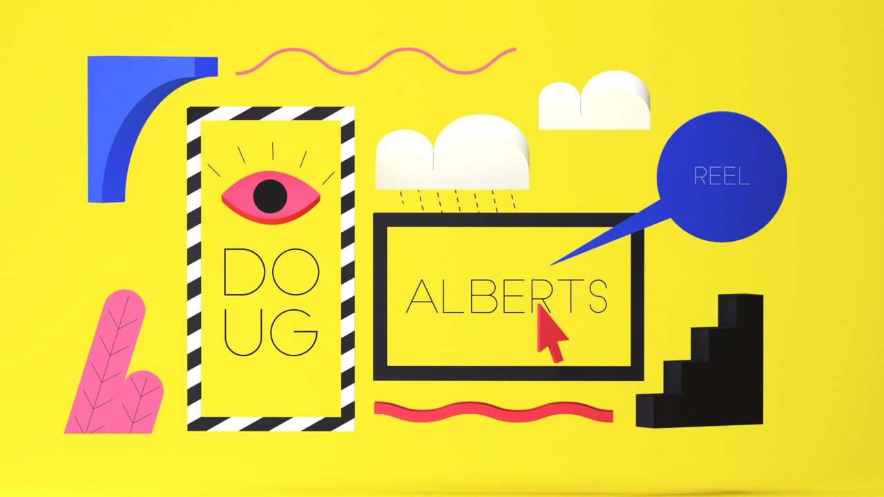 Doug Alberts // Motion Design reel