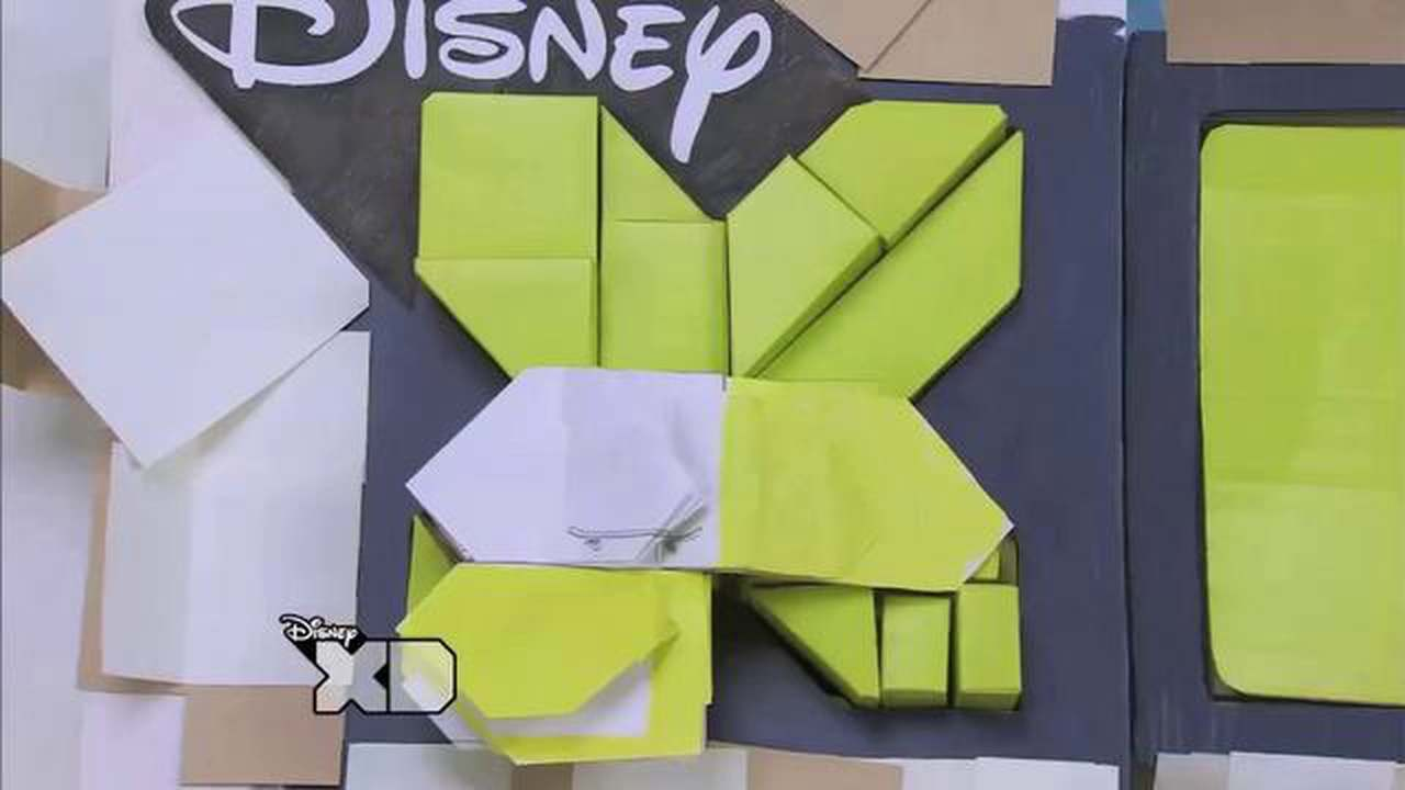 Disney XD Flipbook Ident