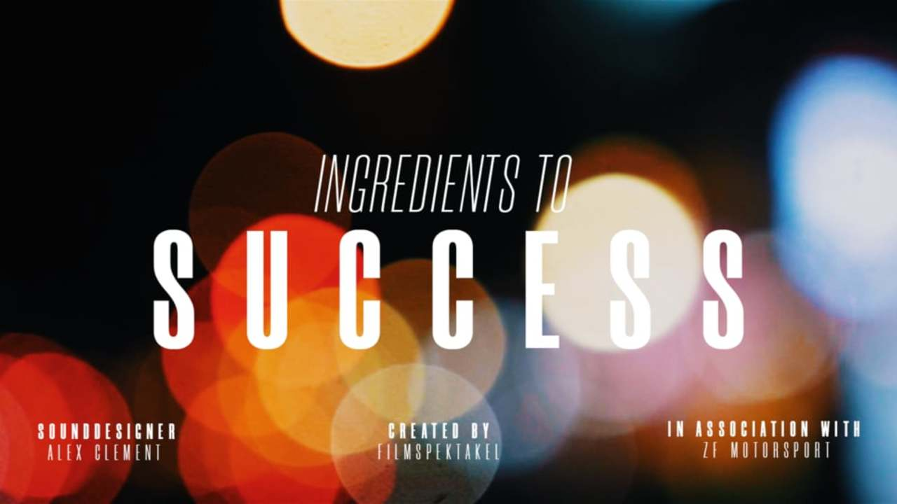 Ingredients to Success