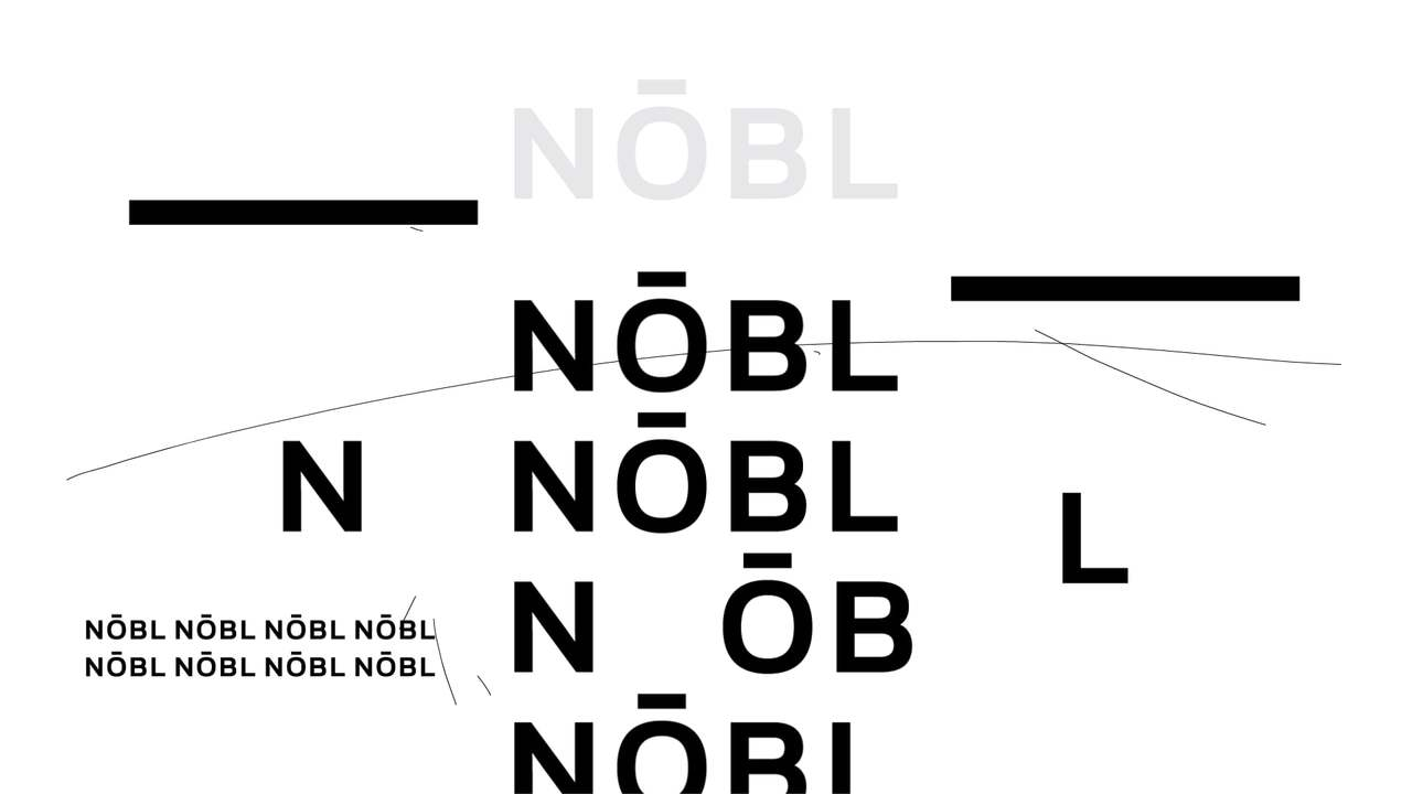 NOBL - Logo animation