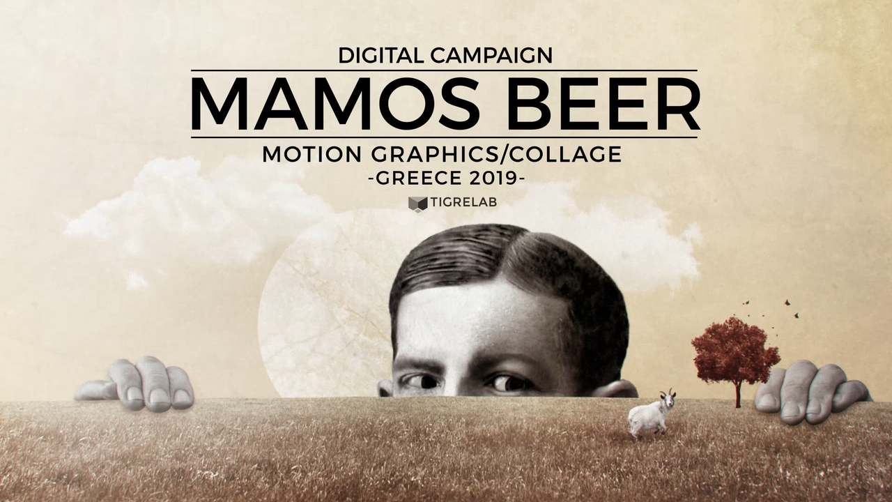 Mamos Beer - Collage Animation Campaign