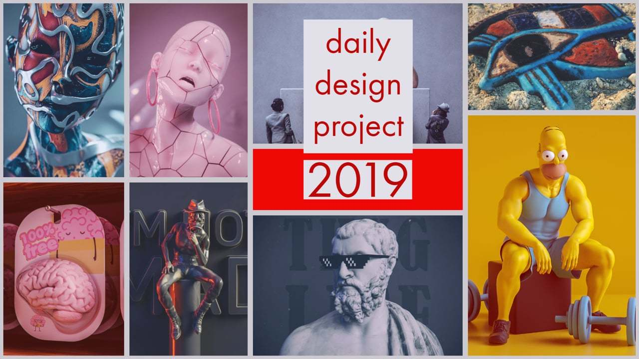 daily design project 2019